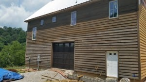 Cypress Lap Siding