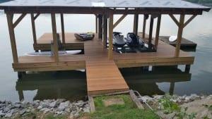 Ipe Boat Dock